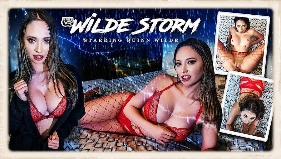 Quinn Wilde Wilde Storm WankzVR