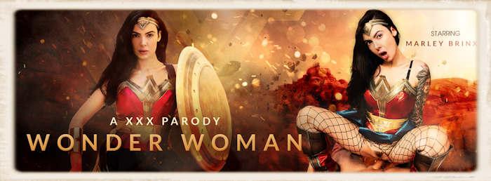 Marley Brinx Wonderwoman porn