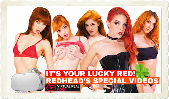Virtual Real Porn redhead's special videos