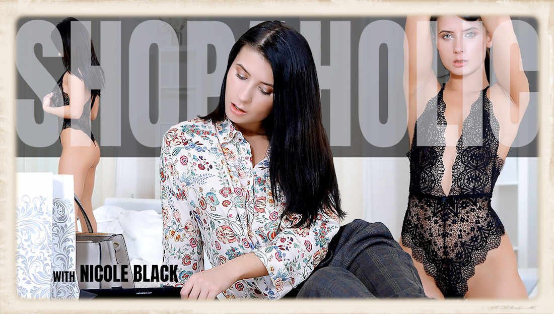 Nicole Black VR porn lingerie