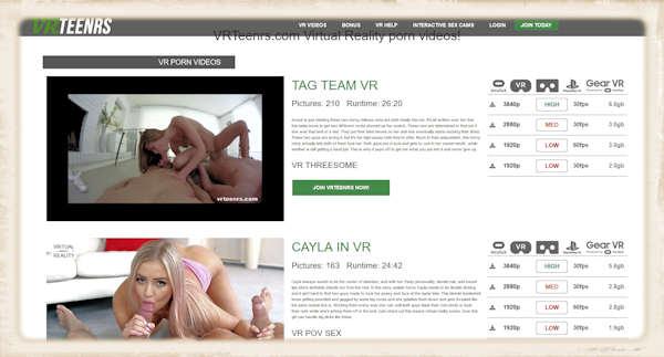VR Teenrs website small