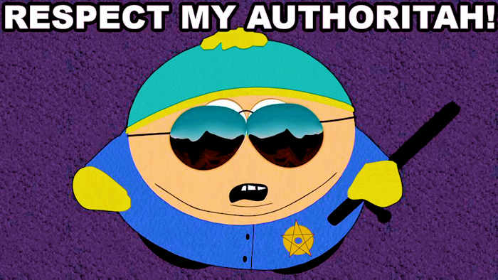 Cartman authoritah