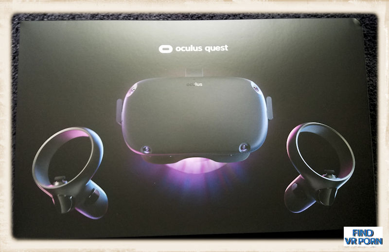 Oculus Quest box