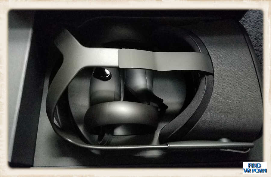Oculus Quest with box open