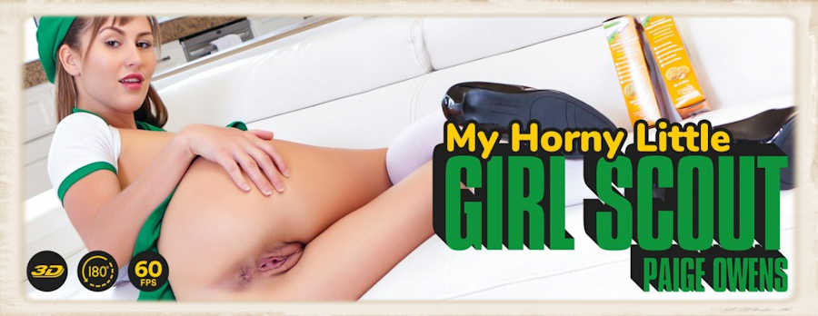 Paige Owens My Horny Little Girl Scout Lethal Harcore VR review