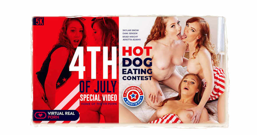 Virtual Real Porn July 4 redhead foursome