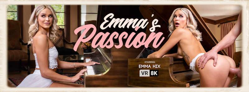 Emma Hix Emmas Passion VR Bangers promo graphic