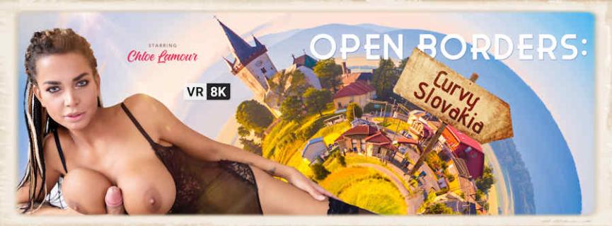 Open Borders starring Chloe Lamour for VR Bangers