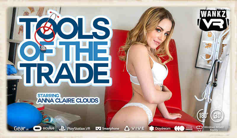 Tools of the Trade featuring Anna Clair Clouds for WankzVR