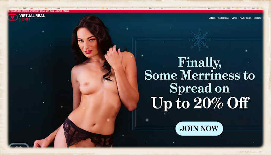 Up to 20% off your subscription from the VRP gang this holiday season
