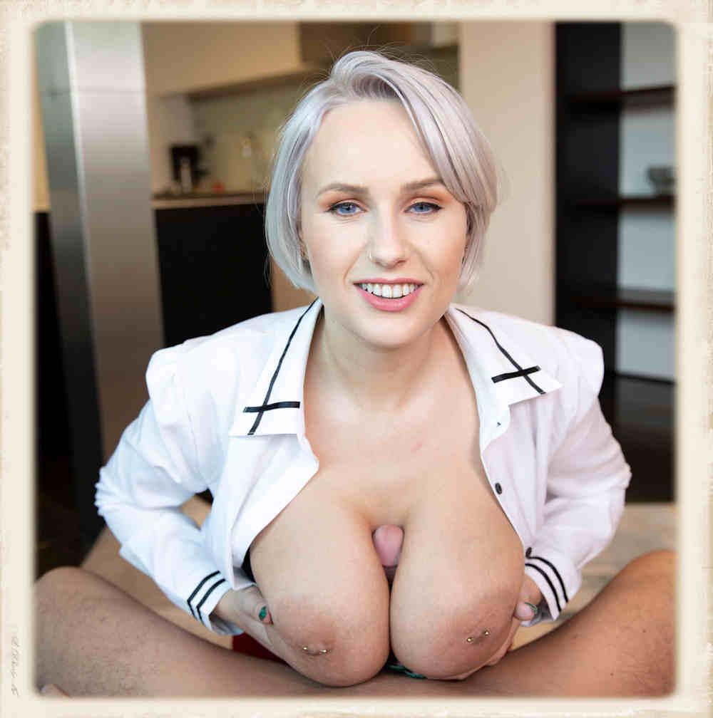 Angel Wicky VR porn tit fuck