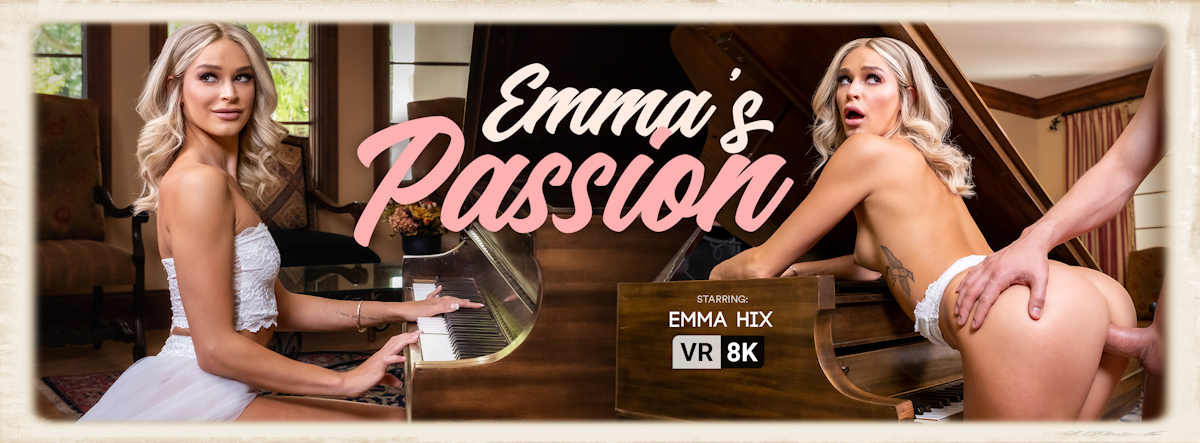 Emma Hix in Emma's Passion for VR Bangers