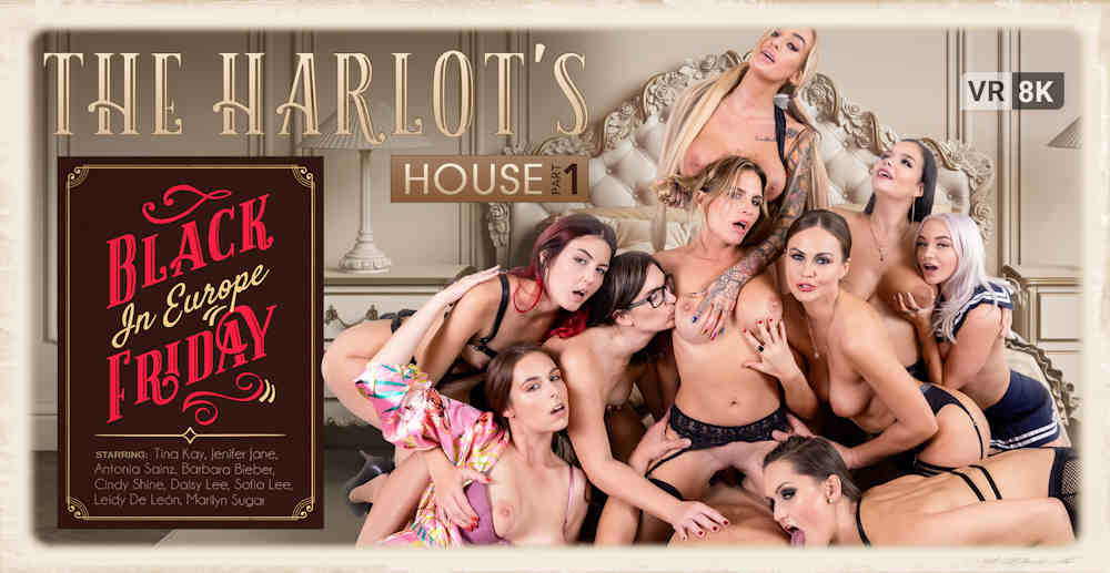 The Harlot's House by VR Bangers