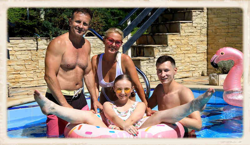 Virtual Taboo Hot Family Summer pic for header of interview feature article