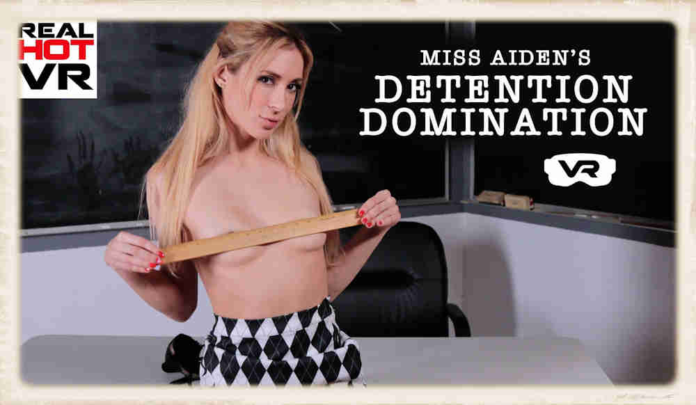 Miss Aiden Detention Domination Real Hot VR