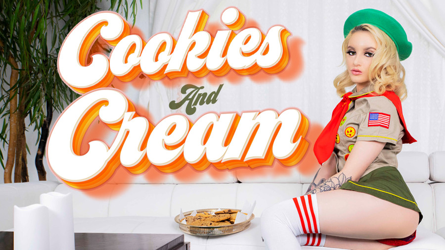 Cookies and Cream starring Lola Fae for VR Conk
