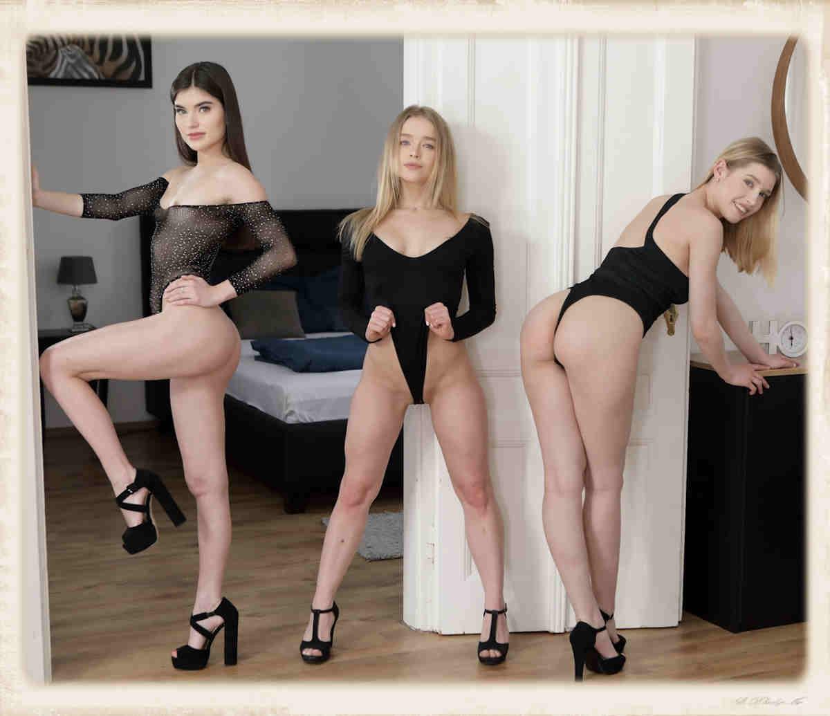 Virtual Taboo Meet The Slut Squad Freya Maye, Alexa Flexy and Stefany Kyler