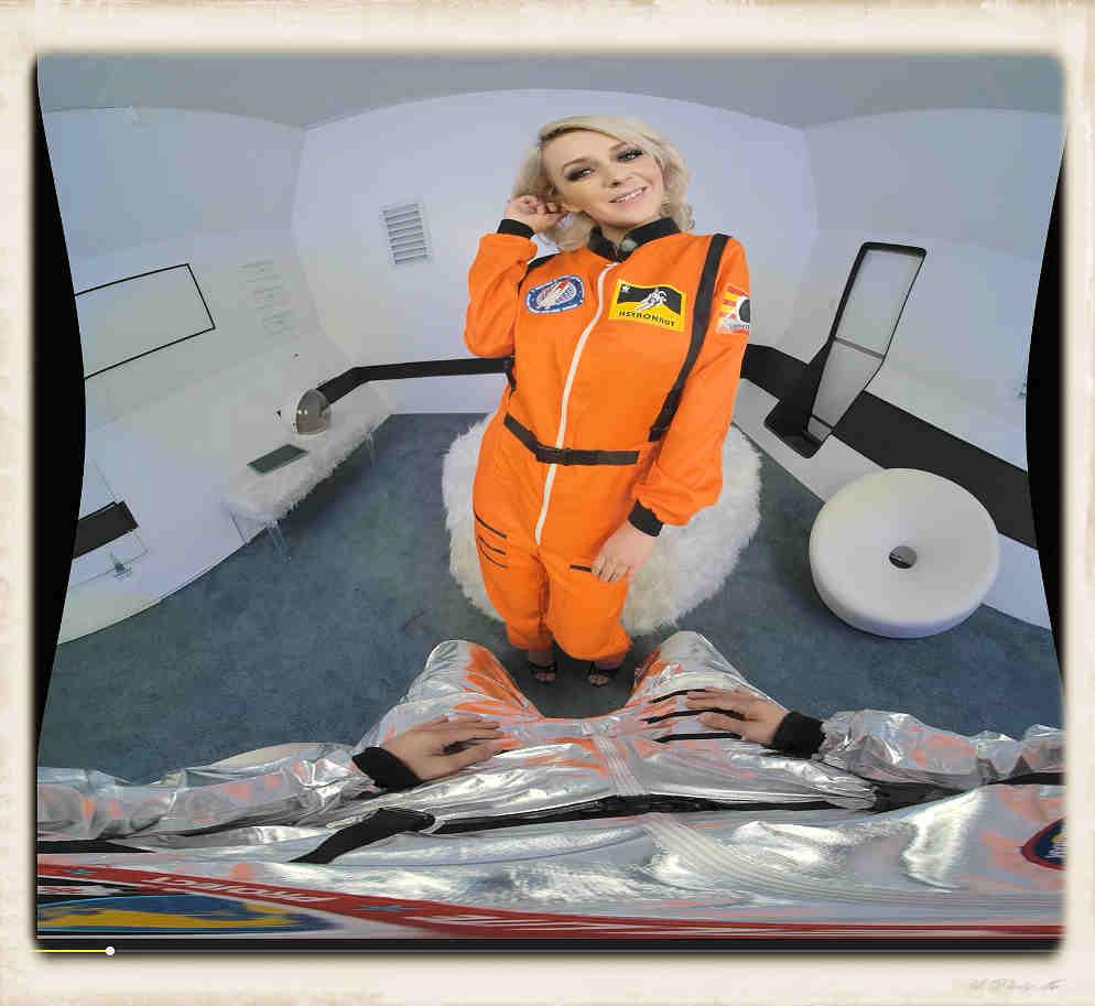 Ava Sinclaire spacesuit