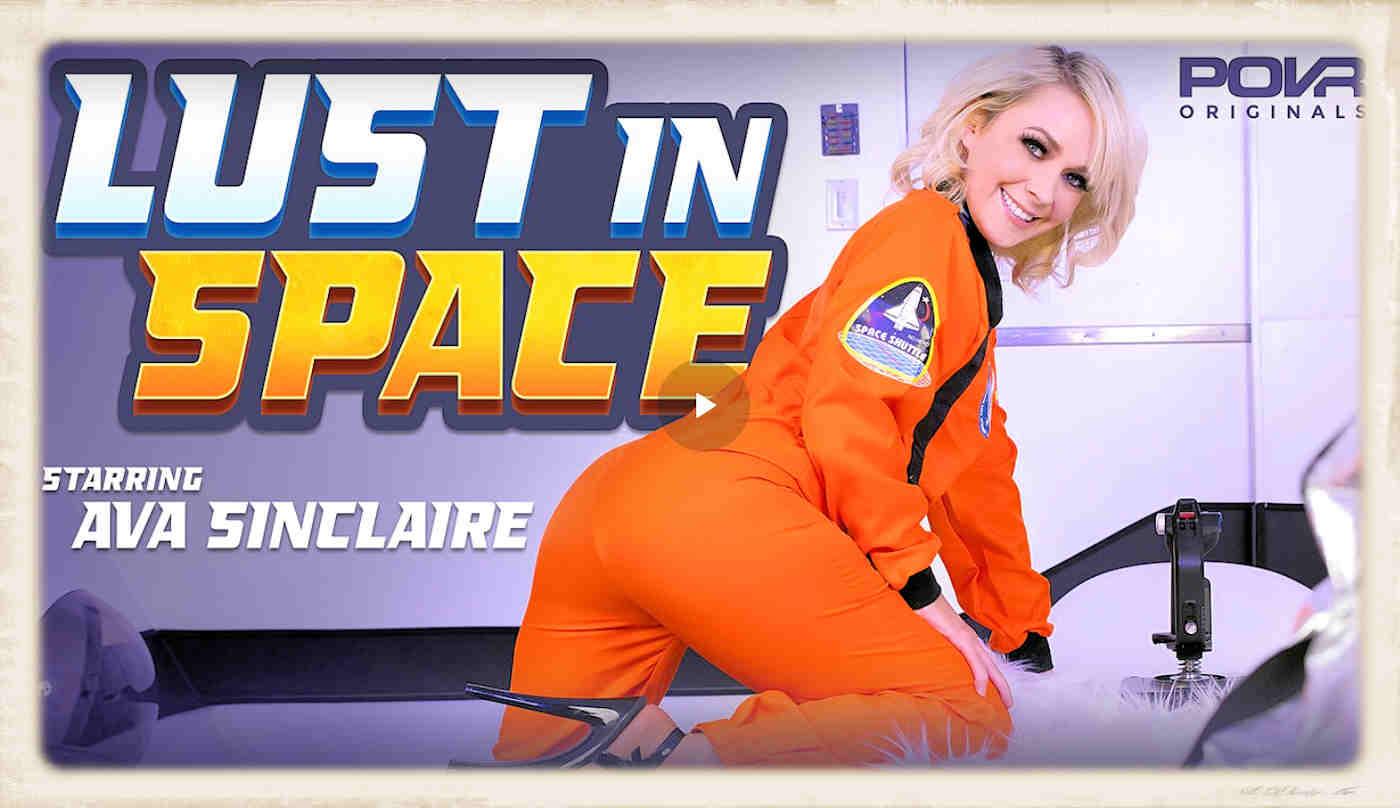 Ava Sinclaire stars in POVR's original Lust In Space