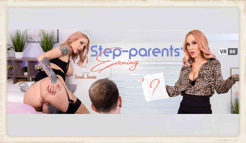 Sarah Jessie stars in Step Parents Evening for VR Bangers