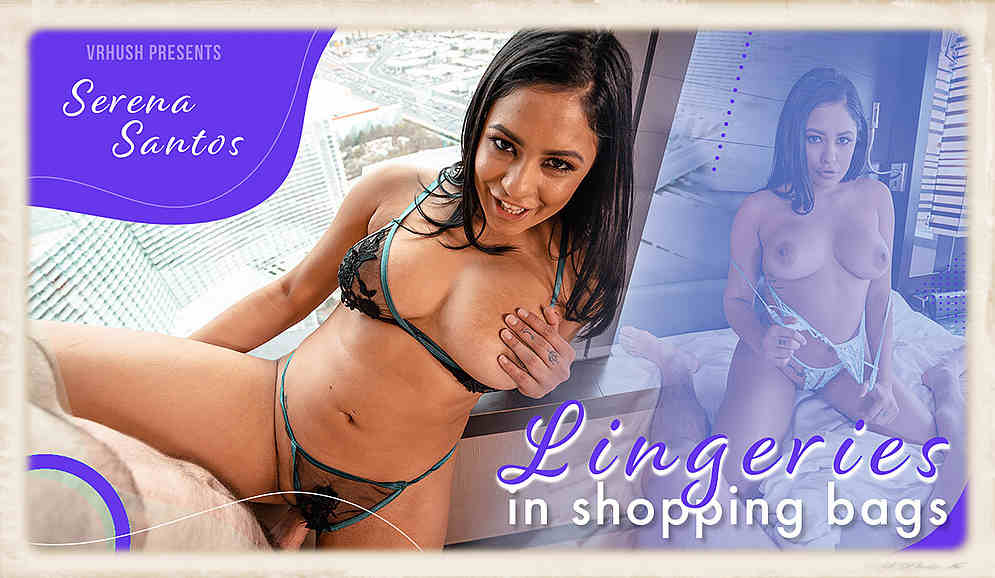 Lingeries in Shopping Bags feat. Serena Santos for the VR Hush studio