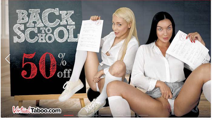 Virtual Taboo 50 percent off back to school