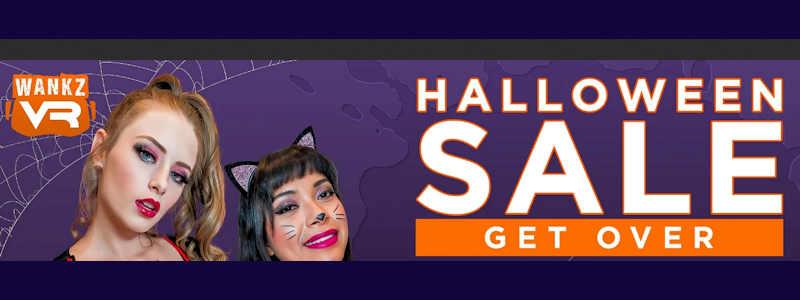 WankzVR Halloween sale 2021